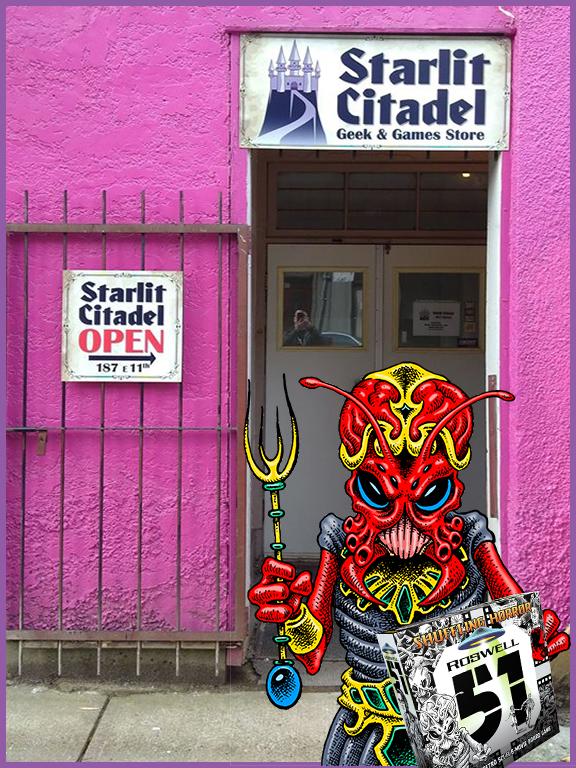 FLGS-Starlit Citadel Door